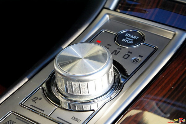 Jaguar DriveSelect 6-speed automatic transmission