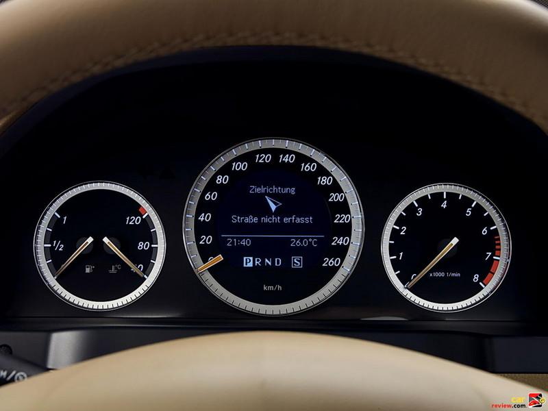 Mercedes-Benz C350 Instrument Pod