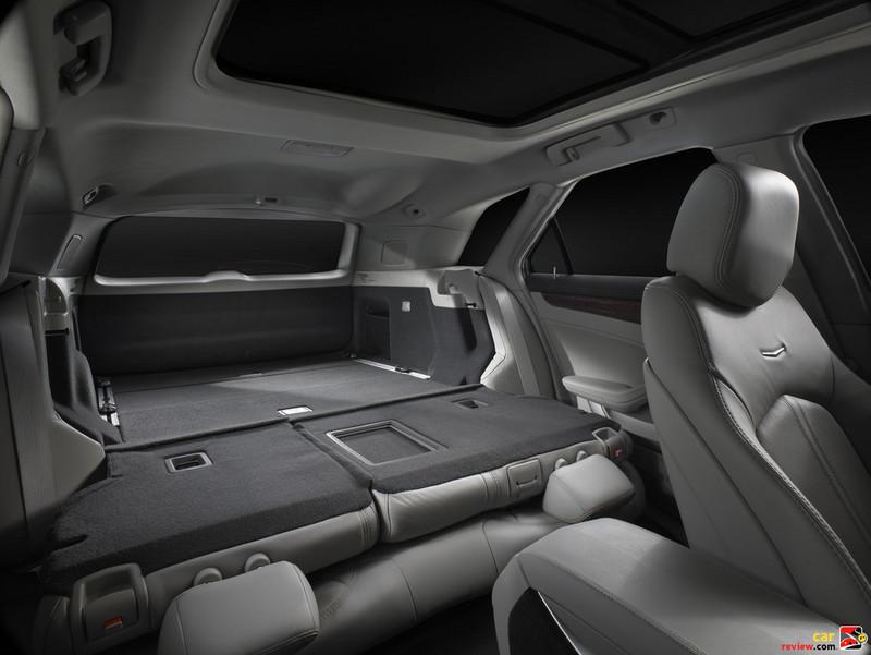 Cadillac CTS Sport Wagon Interior