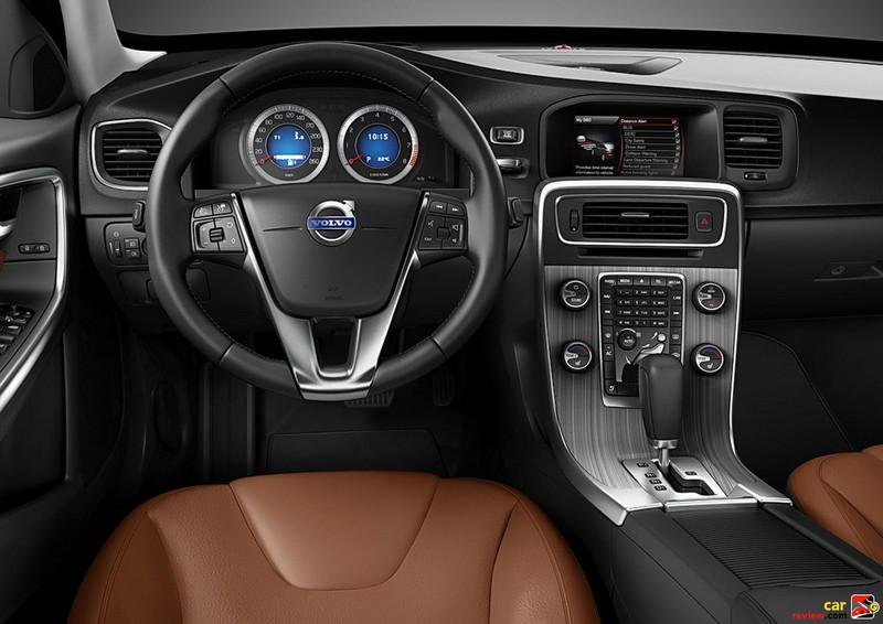 2011 Volvo S60 driver's cockpit