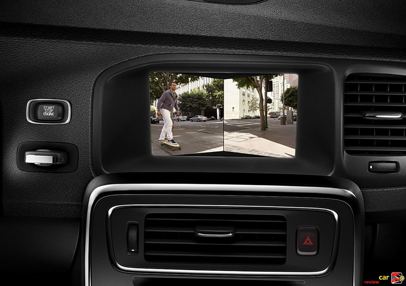 2011 Volvo S60 split rearview camera system