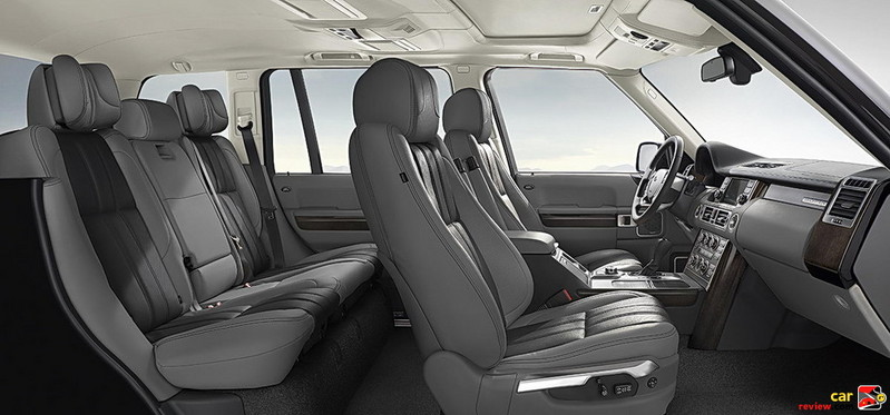 2010 Range Rover Interior