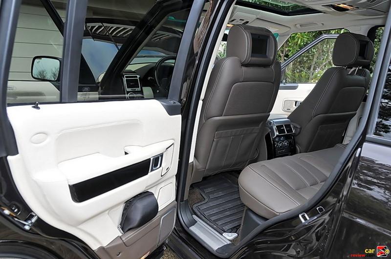 Rear seating