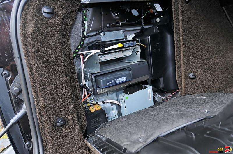 Range Rover DVD changer