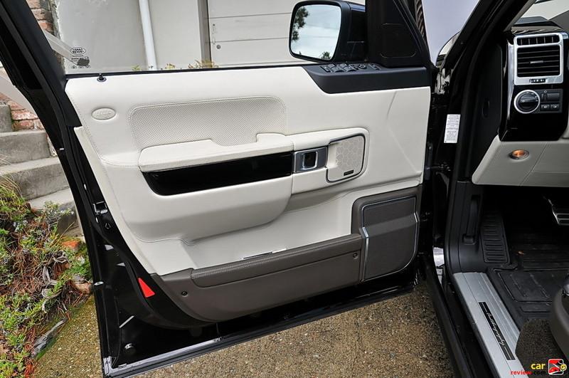 Range Rover driver's side door