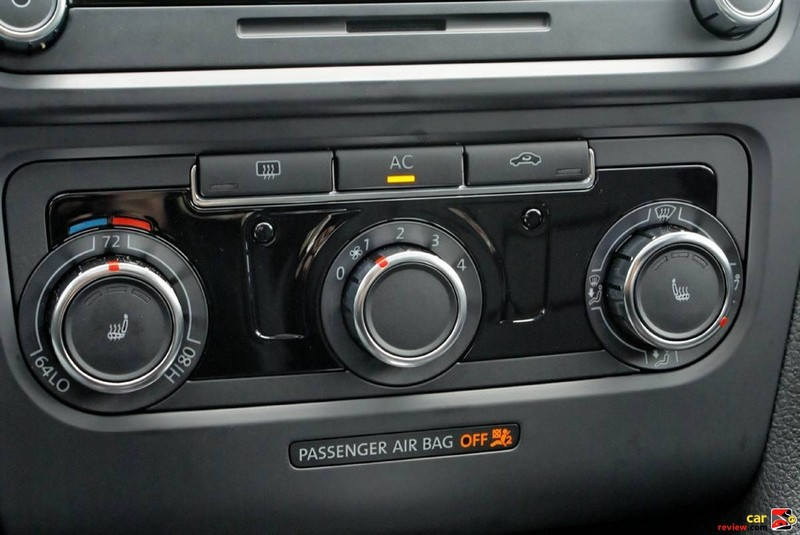 Manual single-zone climate control