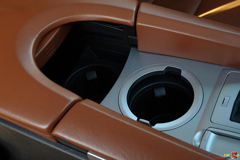 Acura ZDX cupholders