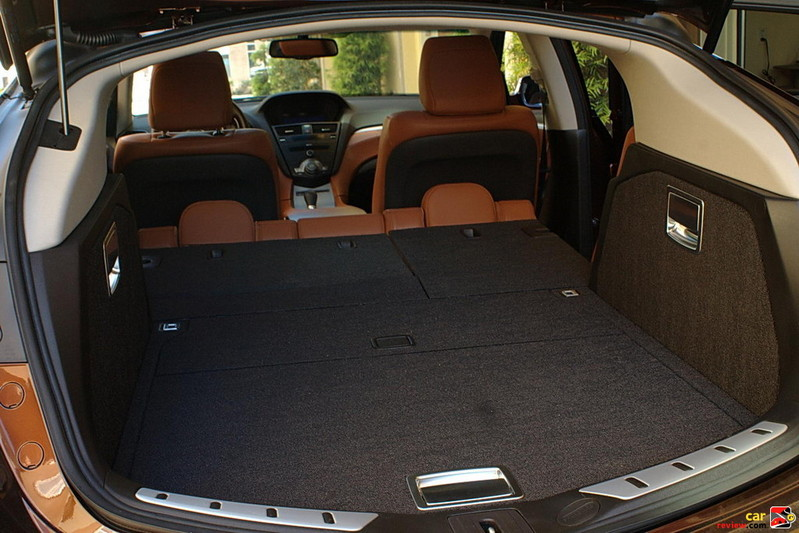Acura ZDX rear cargo area