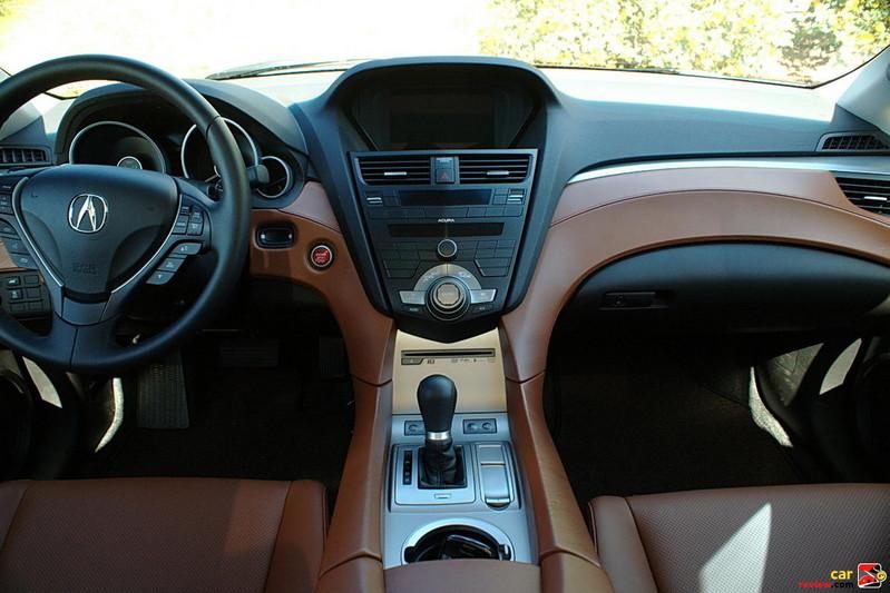 Acura ZDX interior