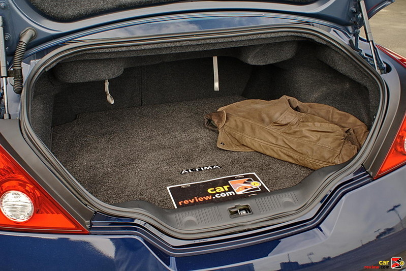 8.2 cubic feet of cargo space in the trunk