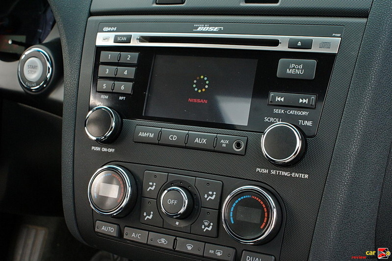 "Digital Bose audio system with AM/FM/CD and 4.3"" color display"