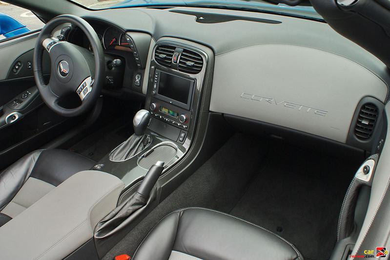 Corvette Grand Sport convertible interior