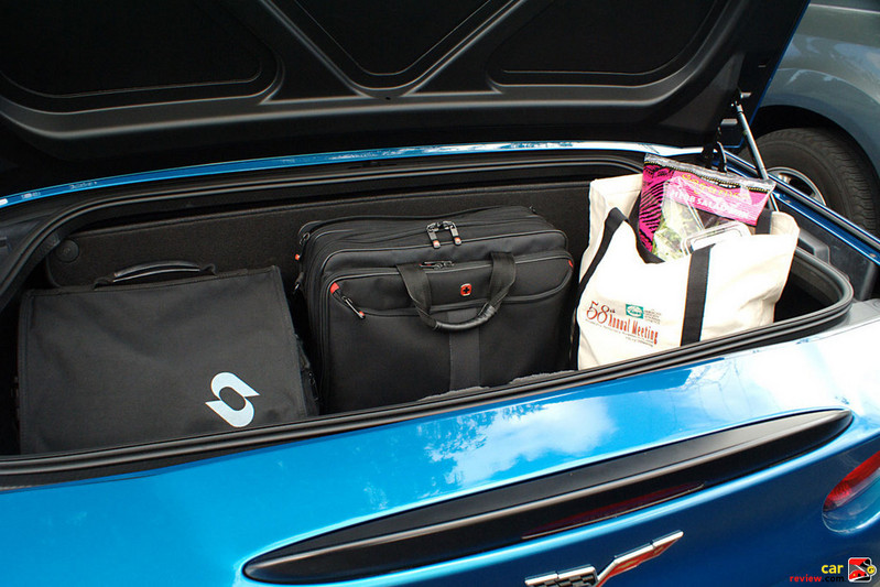 More luggage space than a 370Z convertible