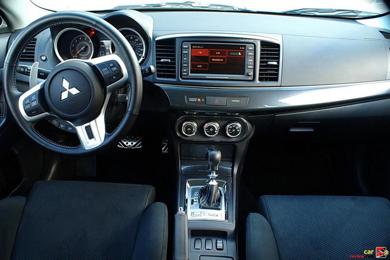 Mitsubishi Lancer Sportback Ralliart Interior