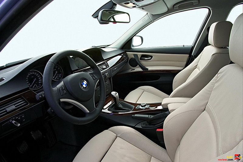 BMW 3-Series driver's seat