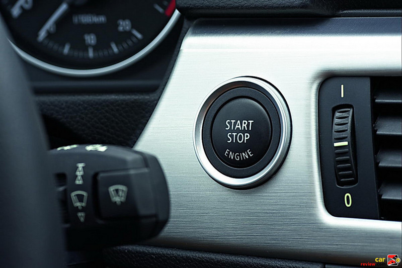 BMW 3-Series pushbutton start/stop