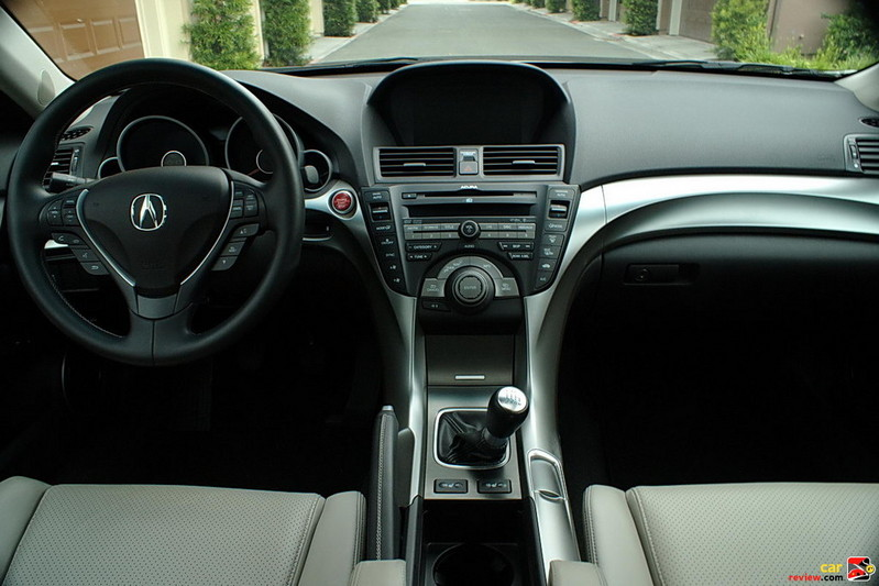 2010 Acura TL interior