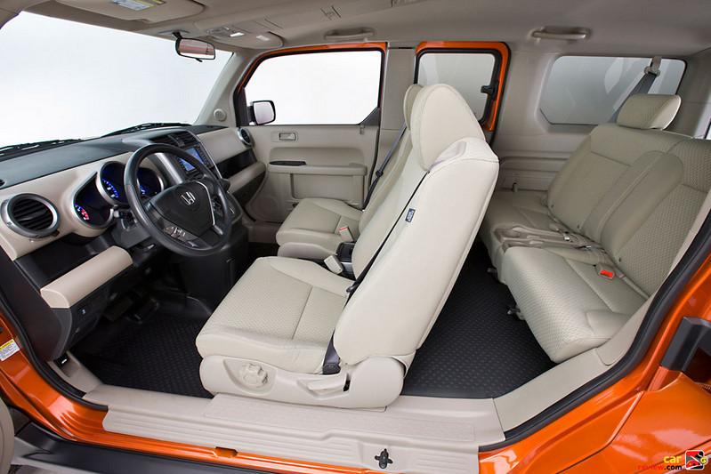 Honda Element front seats