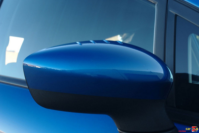 Aero-shaped body-mounted mirrors improve aerodynamics