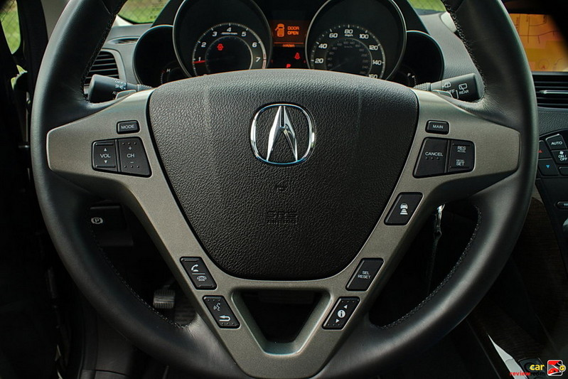 MDX steering wheel controls