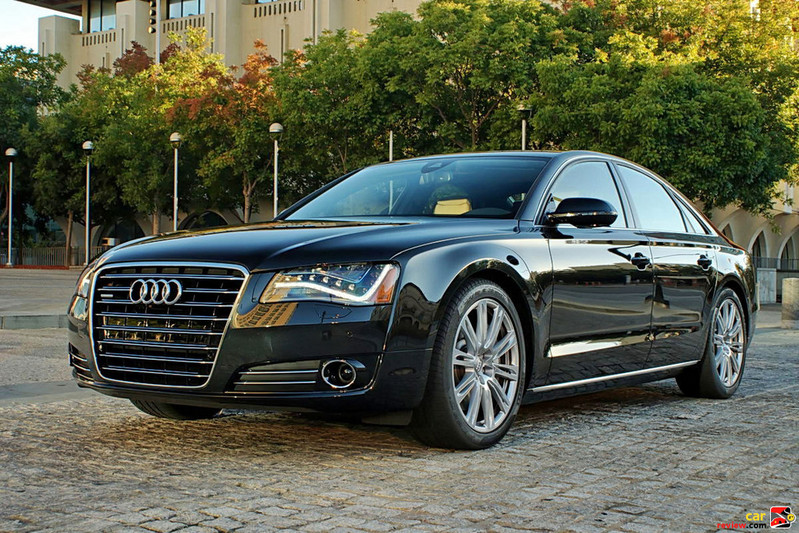 2011 Audi A8 features all-LED headlights