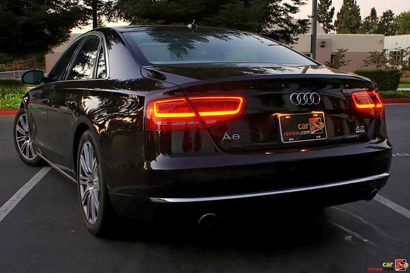 2011 Audi A8 LED ribbon rear taillights