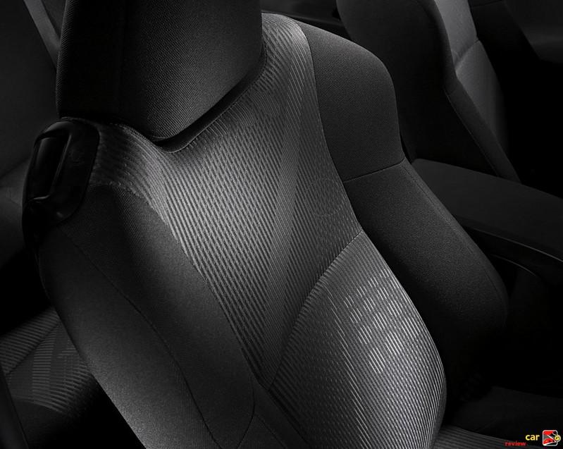 Scion tC cloth seats