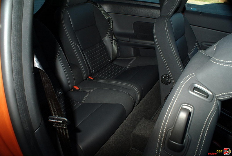 Volvo C30 smallish rears seats