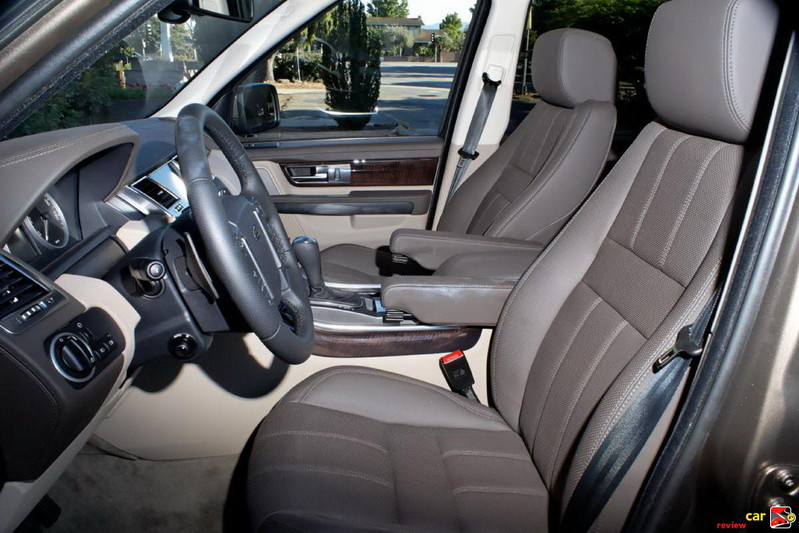 Range Rover Sport front seating