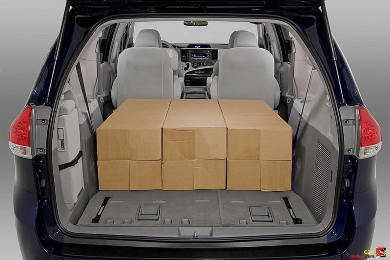 150 cubic feet total cargo volume
