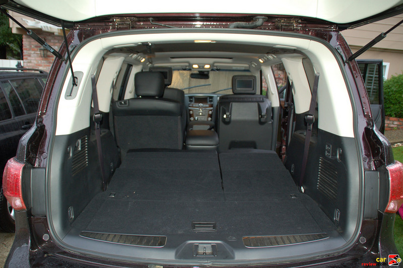 95 cubic feet of cargo space