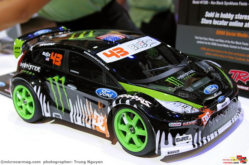 Ken Block Ford Fiesta model