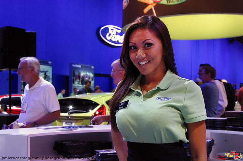 Ford Booth Babe