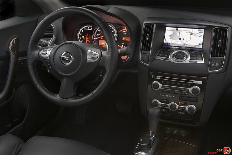 Nissan Maxima driver cockpit