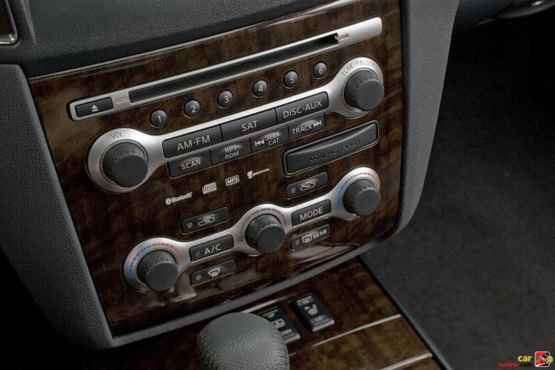 AM/FM/in-dash 6-CD changer audio system
