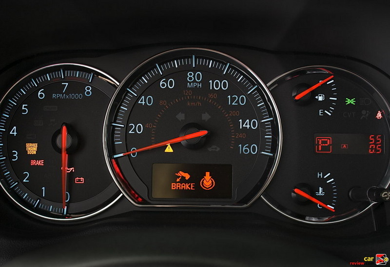 Oversize gauges with daytime illumination