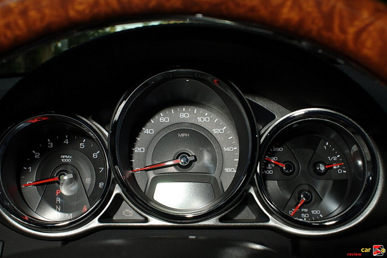 Cadillac CTS Coupe Instrument Cluster