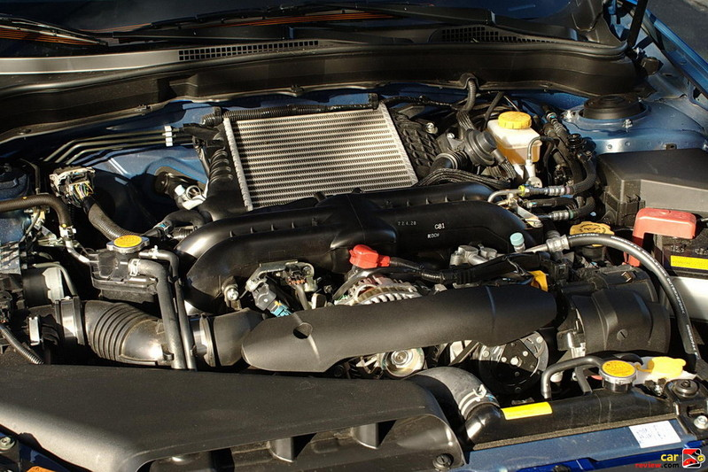 265 hp 2.5-liter DOHC turbocharged engine