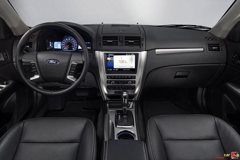 2011 Ford Fusion Hybrid interior