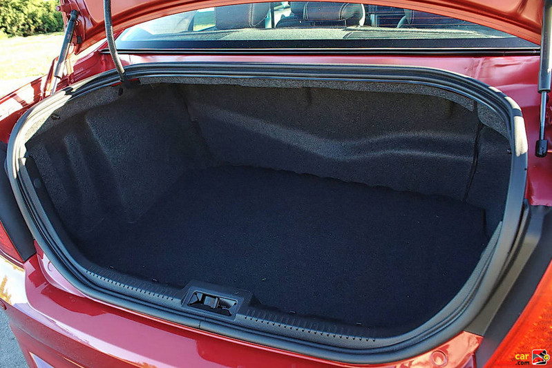 11.8 cubic feet of trunk space