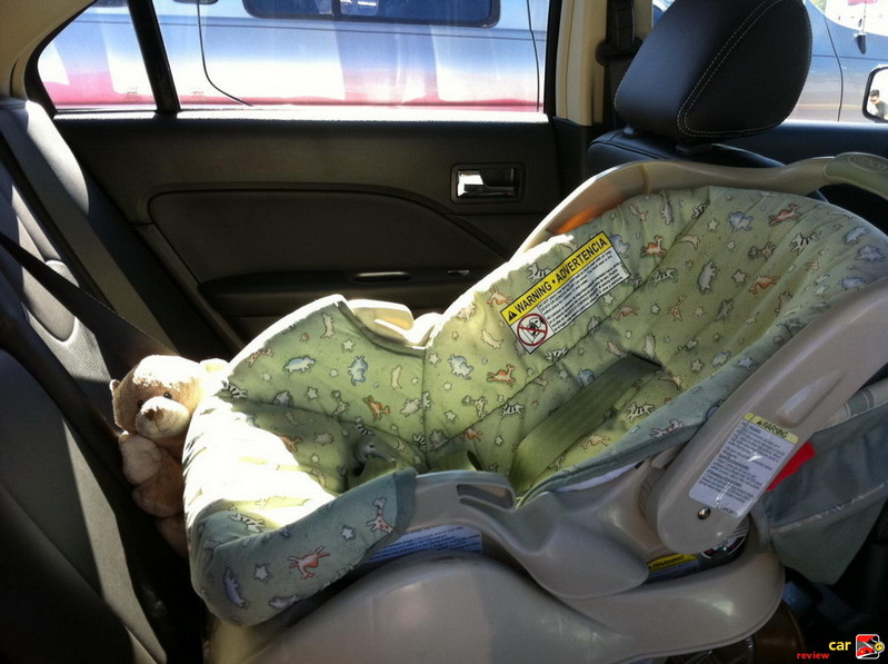 Baby gets preferred seating