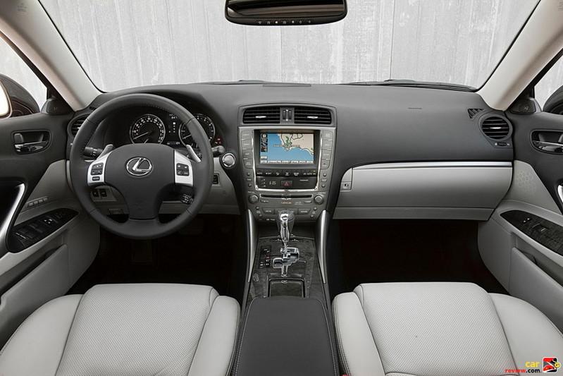 2011 Lexus IS 250 Interior
