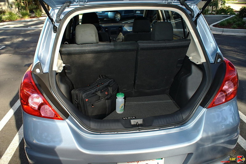 17.8 cubic feet of cargo space w/rear seats up