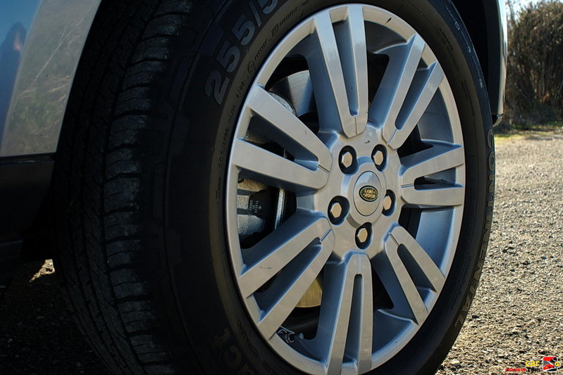 19 inch aluminum alloy wheels