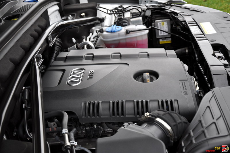 211 hp 2.0L turbocharged engine