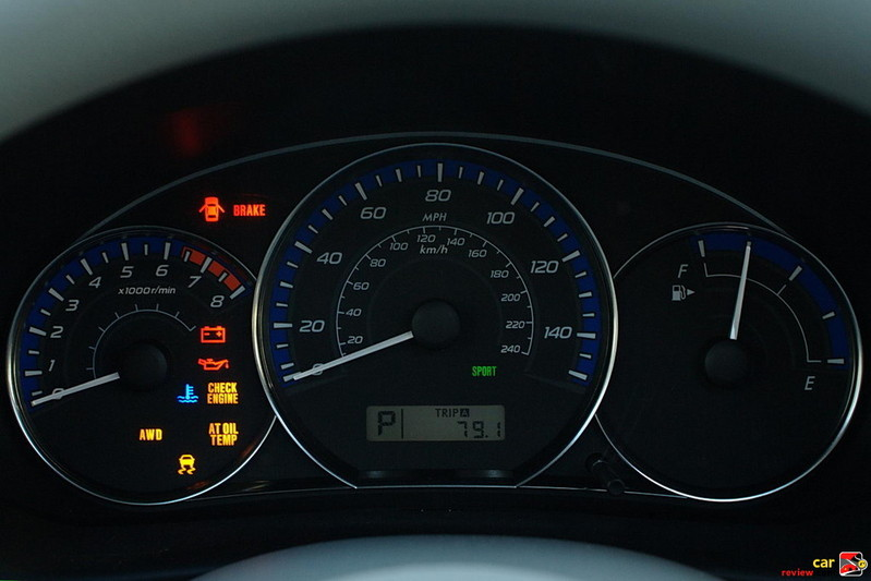 Subaru Forester Instrument Cluster