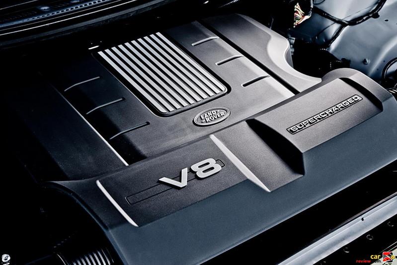 Supercharged 5.0 liter V8 510bhp engine