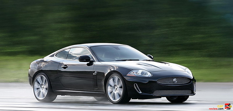 Jaguar XKR coupe 0-60 = 4.9 seconds