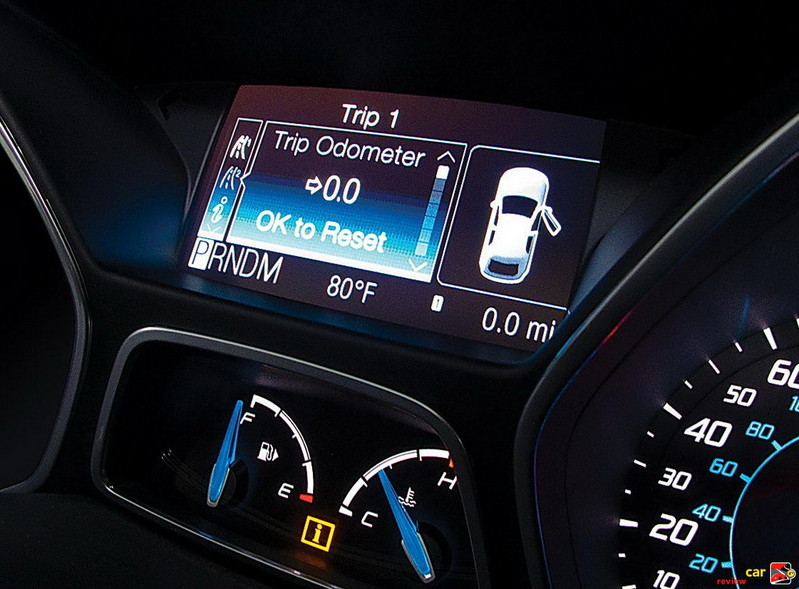 Ford Focus Message Center