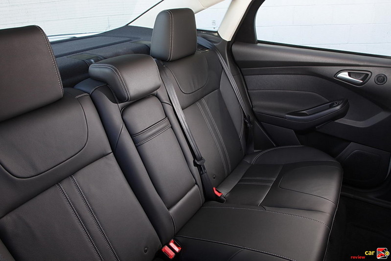 Ford Focus back seats